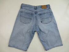 Jeans BIG STAR Shorts Classic Bermuda Button Fly 34 denim blue used/G166