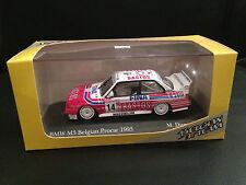 PAUL'S MODEL ART MINICHAMPS 1993 BMW E30 M3 BELGIAN PROCAR 1:43 FINA BASTOS DUEZ