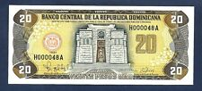 (DN) Dominican Republic 20 Pesos Oro 1997 P-154 Low Number SC UNC