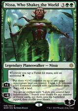 Nissa, Who Shakes the World   NM   War of the Spark   Magic MTG