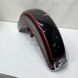 01 Harley-Davidson FLHTC Electra Glide Front Fender Rich Red/Vivid Black