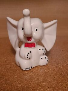 Vintage Ceramic Elephant Ring Holder