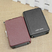 Cigarette Case & Lighter Automatic Ejection Butane Windproof Box Holder SZ
