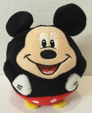 """Ty 2013 Disney Mickey Mouse Plush Stuffed Toy Embroidered Face 6"""""""