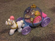 Little People Cinderella Musical Coach Carriage Cinderella Figure Mattel Disney