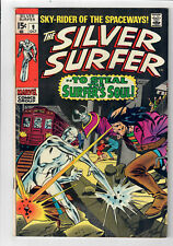 "SILVER SURFER #9 (Vol. 1) - Grade 7.0 - ""...To Steal the Surfer's Soul!"""