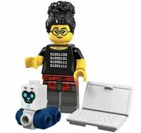 Genuine LEGO 71025 CMF Series 19 Coder Girl Minifigure Robot Laptop New