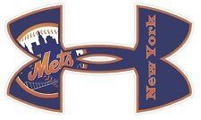 Under Armour New York Mets Baseball Truck/Window Decal Sticker -Set of 3