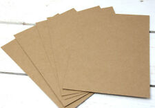 20 x Kraftpapier 12,7x17,8cm braun 280g/m² braun Bastel Kraft Papier Docrafts
