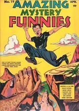 Amazing Mystery Funnies #19 Photocopy Comic Book, Speed Centaur
