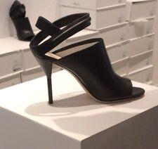 3.1 Phillip Lim NIBOX Kiddie Cutout Leather Open Toe Sandals,Shoe,Black.Size 38