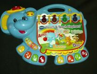 VTech Touch and Teach Elephant Book Tested WORKS great for kids learning!!