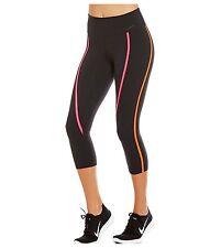 Nike Power Legendary Capri Tights 803004-012 sz M NWT $ 95.00 Black pink orange