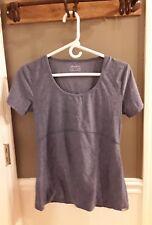 Eddie Bauer Travex Women's sz S Short Sleeve V Neck Shirt Outdoor FAST SHIP😀