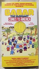 Babar the Elephant Comes to America (VHS)