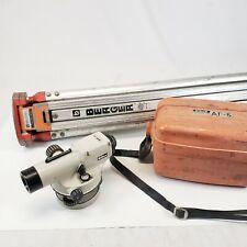 Nikon Automatic Level Ap 5 Nikon Tough Waterproof Case Strap Amp Berger Tripod