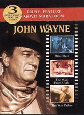 John Wayne - Triple Bill: Blue Steel/The Man From Utah/The Star Packer (DVD,...