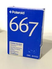 Polaroid 667 ISO 3000 Black & White Instant Pack Film, 20 Photos - Exp 11/2004