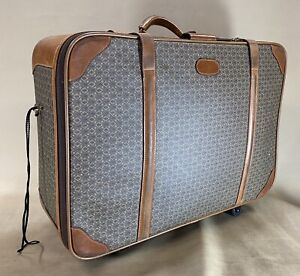 """Hartmann WINGS & Belting Leather Trim 26"""" Soft Pullman Suitcase Trunk Luggage"""