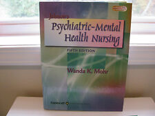 Johnson's Psychiatric Mental Health Nursing by Wanda Mohr (2002, Hardcover,...