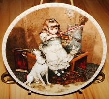 A Victorian Childhood The Concert Charles Burton Barber Dog Plate