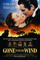 Gone with the wind vintage movie poster print
