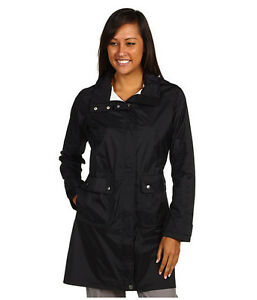 PATAGONIA Torrent Shell WATERPROOF Rain TRENCH COAT Hooded JACKET Womens size XS