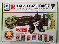 Atari Flashback 7 Deluxe Classic Console Retro 101 Built-in Game Plug & Play NEW