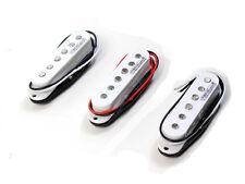 Wilkinson guitare électrique Set capteurs bobine simple blanc pour STRAT mwvs