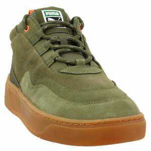 Puma Cali Zero Demi Army Green Lace Up  Mens  Sneakers Shoes Casual   - Size 12