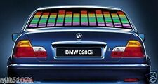 CAR SOUND ACTIVATED EQUALIZER COLORFUL FLASHING MULTI COLOR LED LIGHT 80 x 19