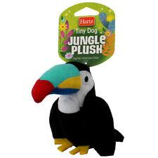 Hartz Tiny Dog Jungle Plush Dog Toy, Assorted