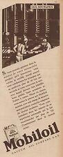 Y8570 MOBILOIL - Les soupapes - Pubblicità d'epoca - 1931 Old advertising