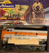 HO Scale Athearn WP Western Pacific  F7A Diesel Locomotive No # Custom Painted