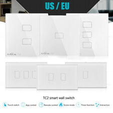 Broadlink TC2 Smart Wall Touch Light Switch Panel 433MHZ WiFi Remote Control FL