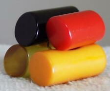 """Bakelite Cookie Button Snack 4 Buttons Stacked 1-1/4"""" DIY Hat Pin Brooch Roll"""