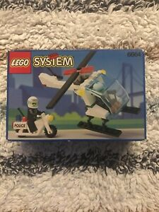 Lego Vintage System 6664 Chopper Cops - New, Sealed, Retired & Rare