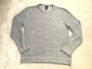 Mens H&M Grey Cotton Mix Sweater jumper  Size L immaculate