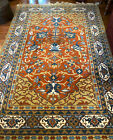 Vintage Pande Cameron Indian Hand Woven Wool Agrippa Area Oriental Rug - 6 x 9'