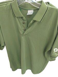 Publix Super Market Uniform Work Employee Polo Green T Shirt Small
