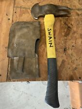Truckmans Axe with Leather Scabbard