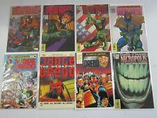 Judge Dredd comic lot 15 different issues avg 8.0 VF