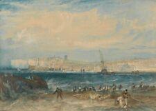 Margate, Kent, 1822, J.M.W. TURNER, Romanticism Art Poster