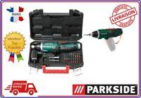 PARKSIDE® Coffret Visseuse sans fil PSSA 4 A1, 4 V + 27 pièces porte Embouts