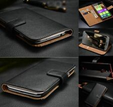 For HTC 10 One M7 M8 M9 X9 U11 Genuine Leather Magnetic Flip Wallet Case Cover