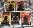 STAR WARS #2~FIVE BOOK SET~1st, 2nd, 3rd, 4th, 5th PRINTING VARIANT SET~MOVIE~NM