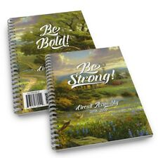 2 x notebook + talk titles 2019 circuit assembly Jehovah's Witness SHIPS FREE N2