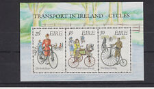 UMM MNH STAMP SHEET 1991 IRELAND EIRE EARLY BICYCLES SG MS798