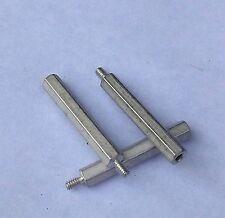 "C34 QTY 10 ea 3//8/"" Hex x 5//8/"" Aluminum Standoff 8-32 Thread Female//Female K1926C"