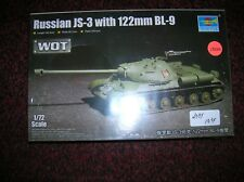 Trumpeter Models  1//72 Russian JS3 Tank w//122mm BL9 Gun TRP7163